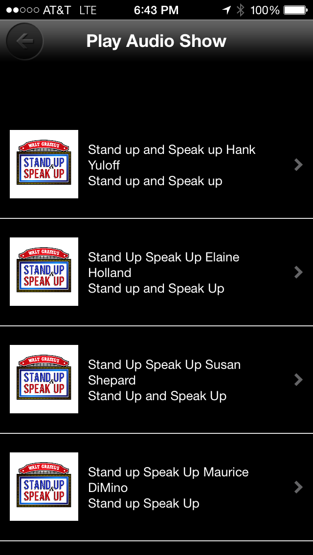 Stand Up and Speak Up Shows